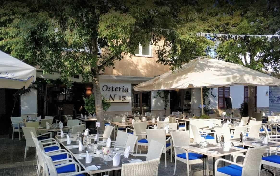 Port de Pollenca Restaurant Osteria Nr 15