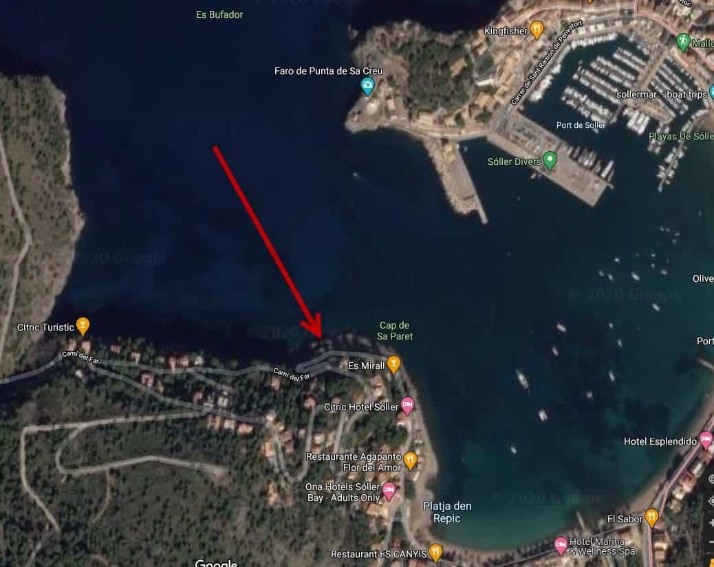 Port de Sóller - Google Maps Cap de Sa Paret