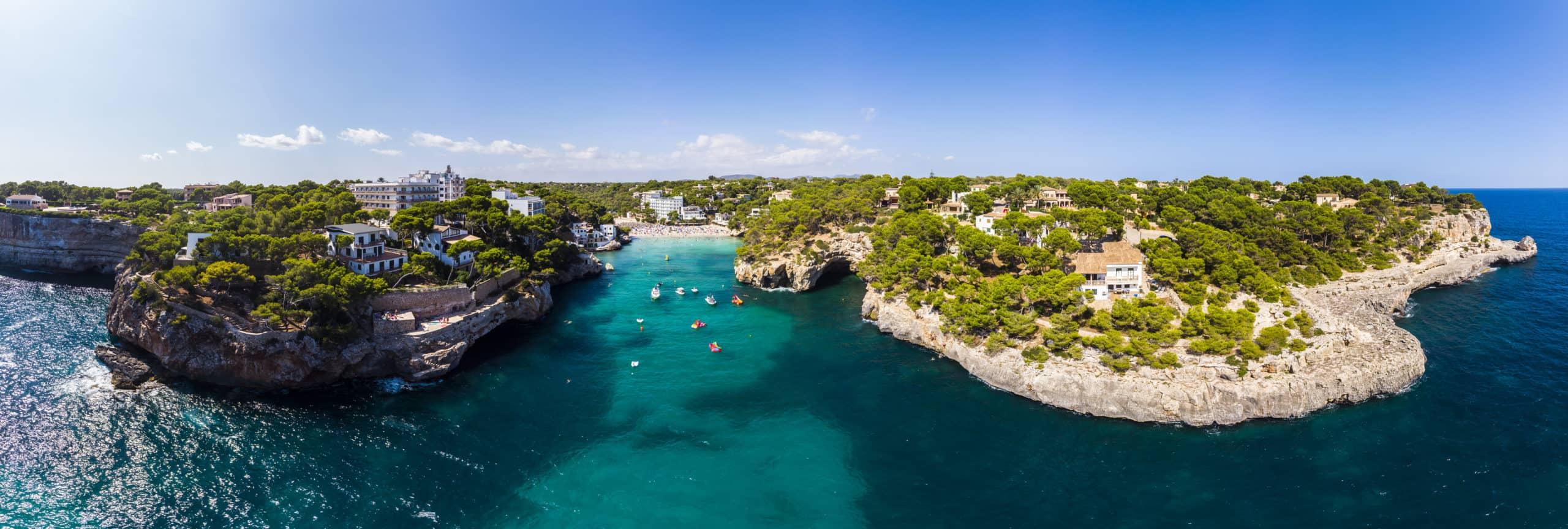 Strand Cala Santanyi Mallorca