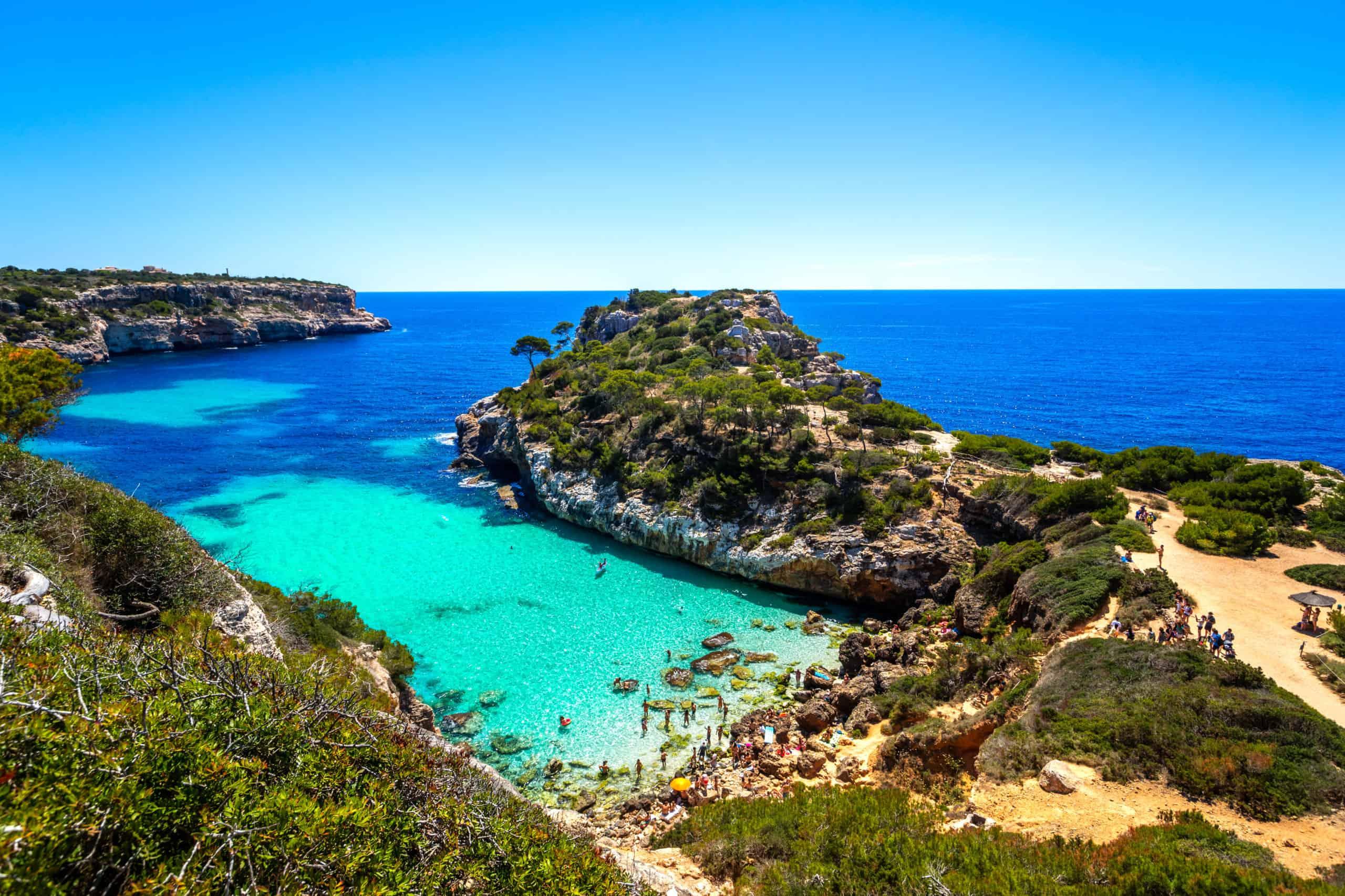 Strand Calo des Moro Santanyi Mallorca
