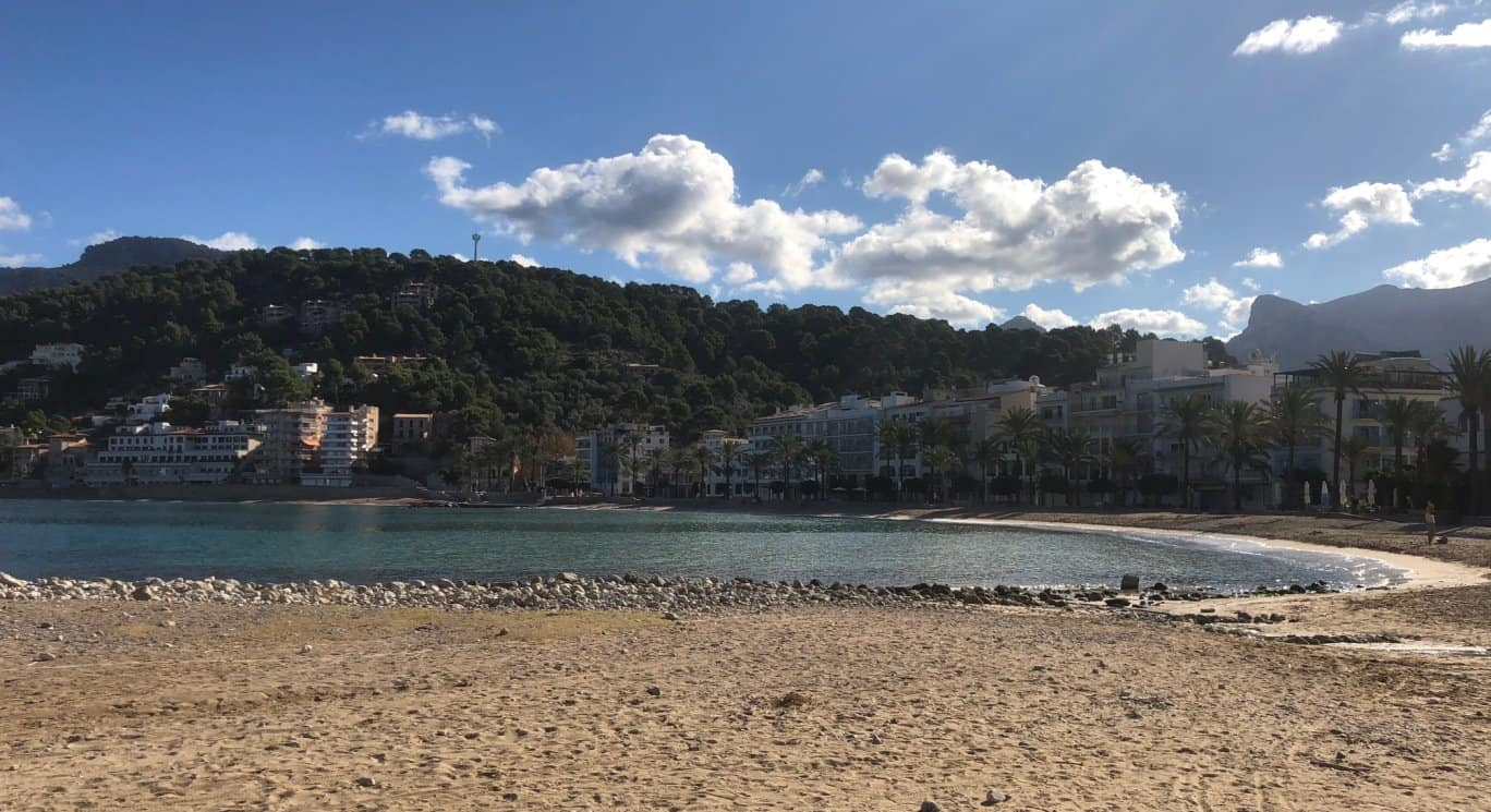 Port de Soller Mallorca Strand Platja den Repic
