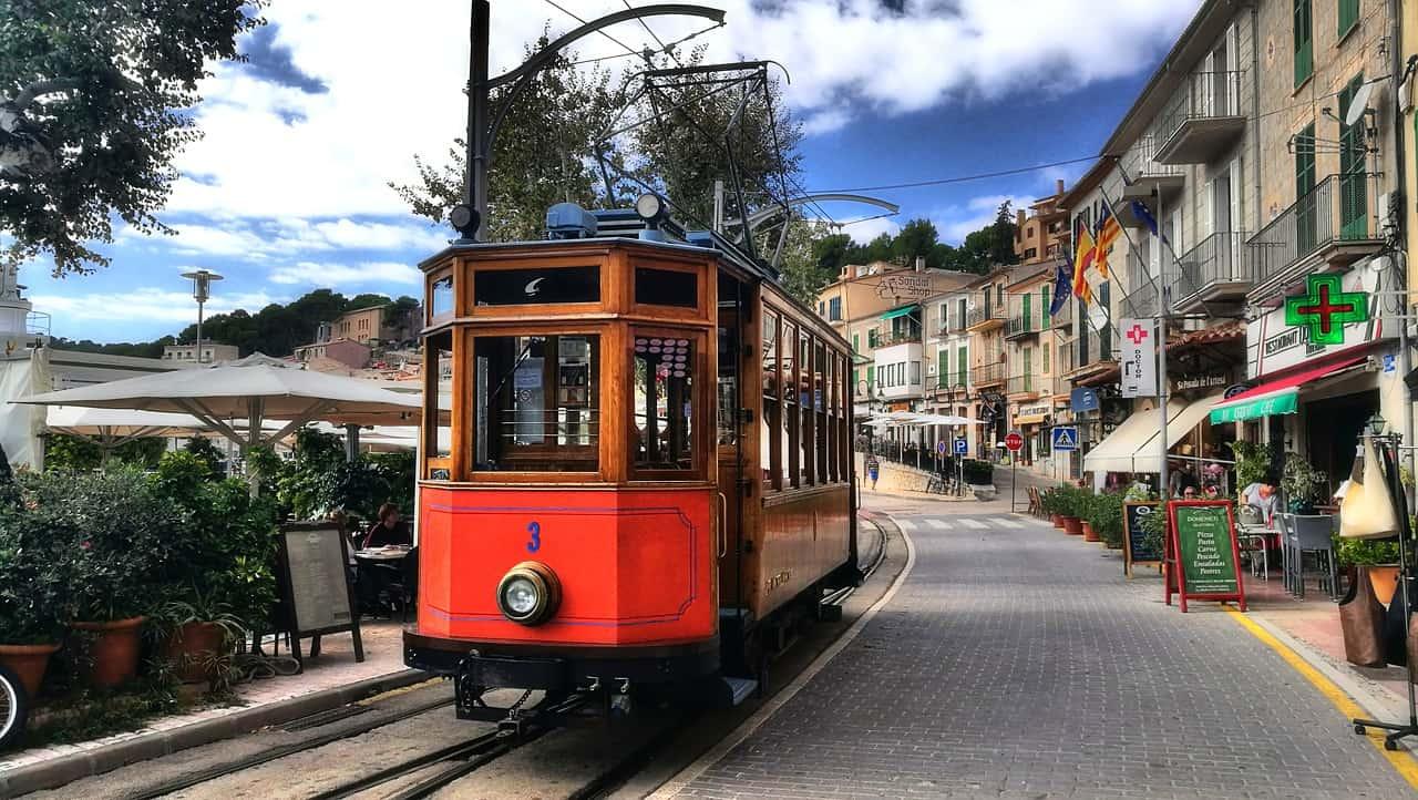 Port de Soller - rote Blitz - Mallorca