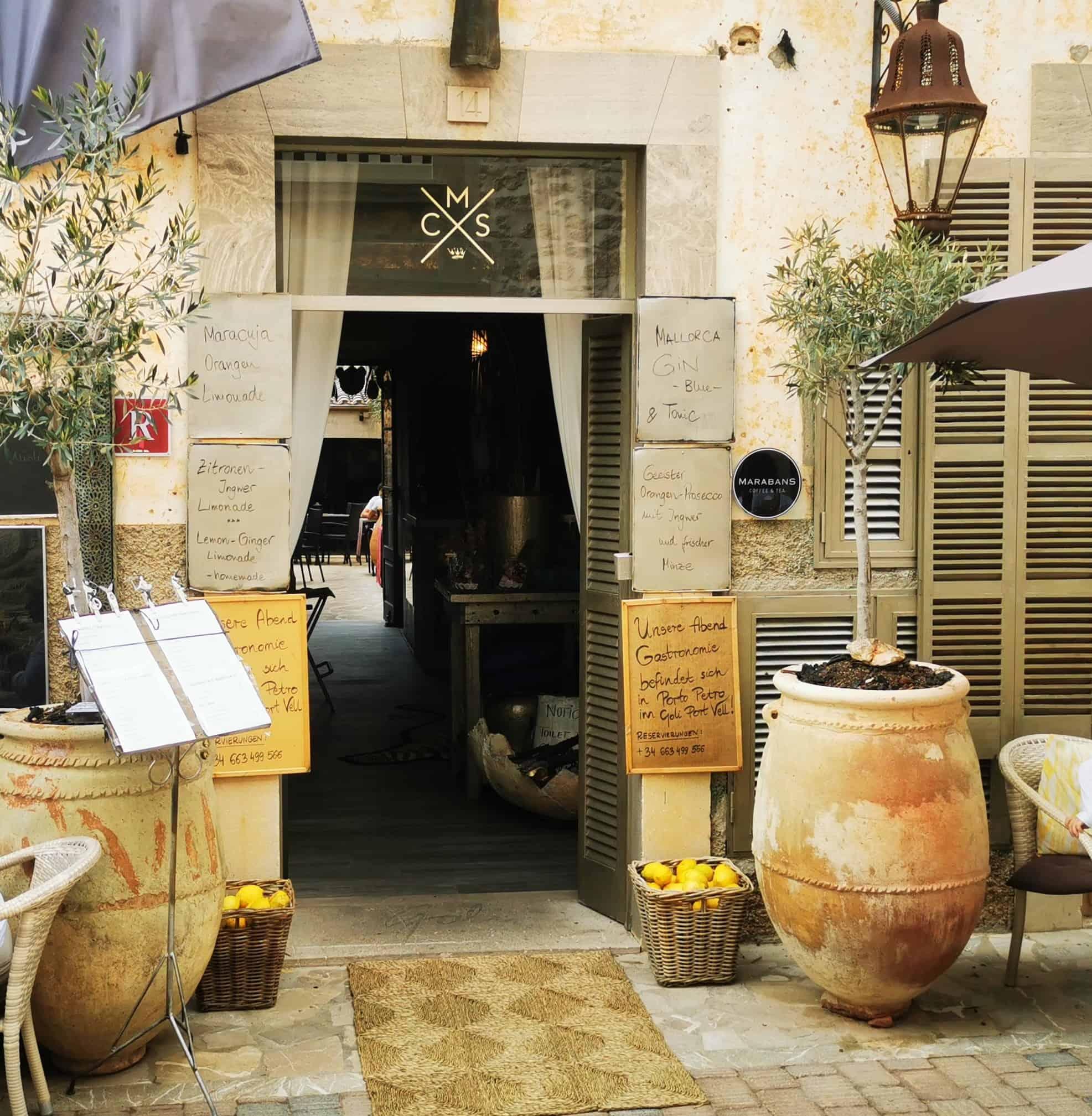 Santanyi_Restaurant Goli Mallorca Eingang